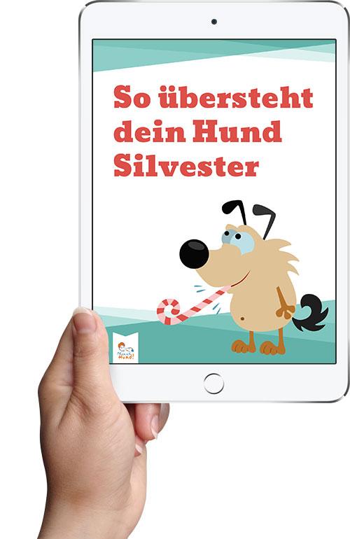 "E-Book ""So übersteht dein Hund Silvester"""