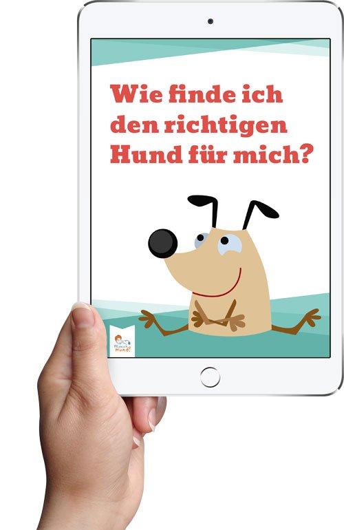 """eBook """"Wie finde ich den richtigen Hund für mich?"""""""