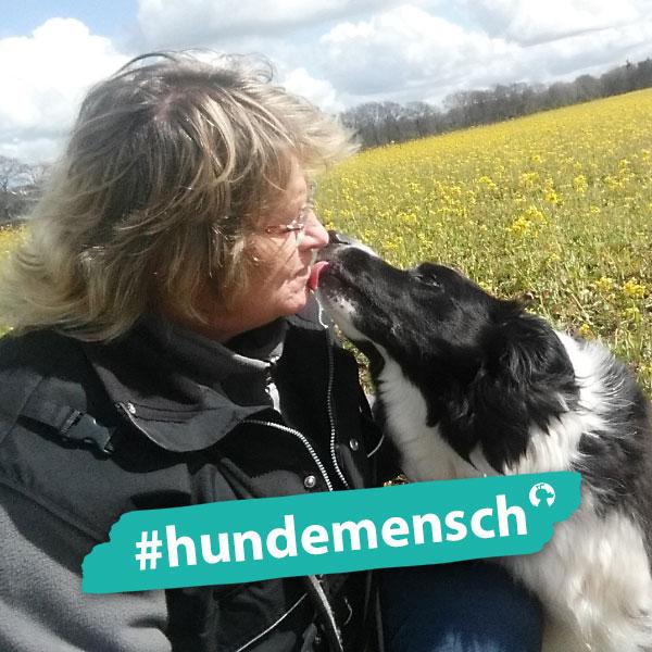 Hundemensch Birgit Popp