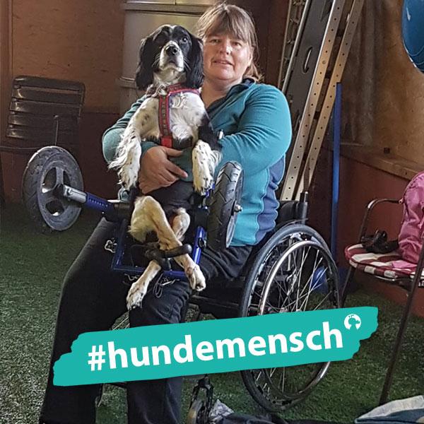 Hundemensch Linda Erdl