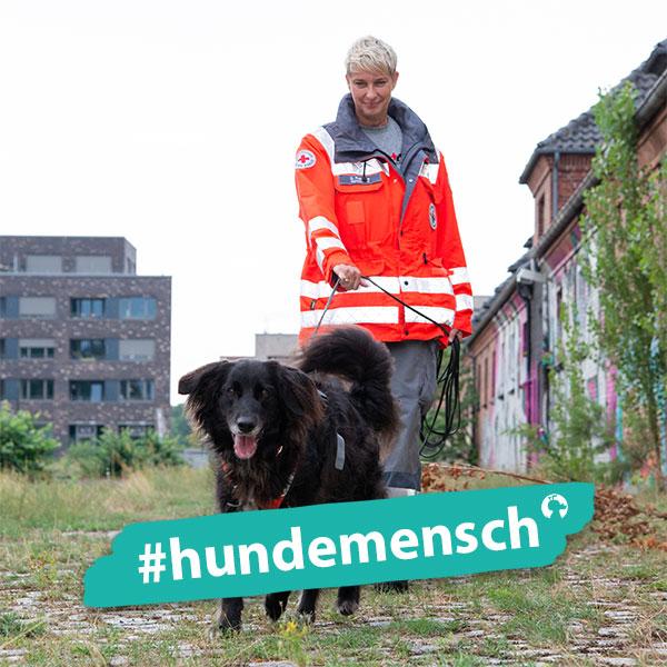 Hundemensch Sabine Reincke