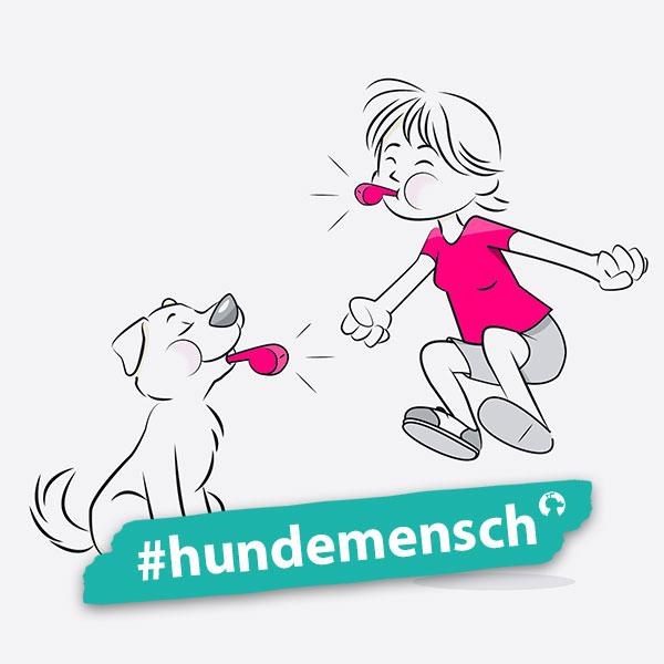 Hundemensch Simone Isenberg