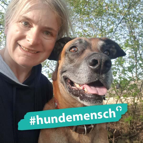 Hundemensch Evelyn Kraxner