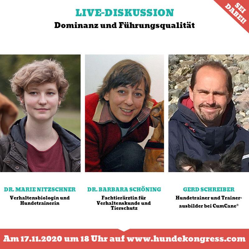 Livediskussion: Dominanz und Führungsqualität