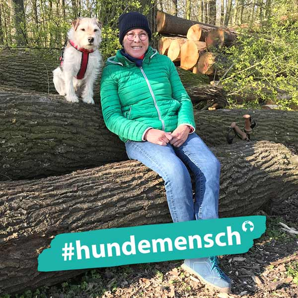 Hundemensch Barbara Schröter