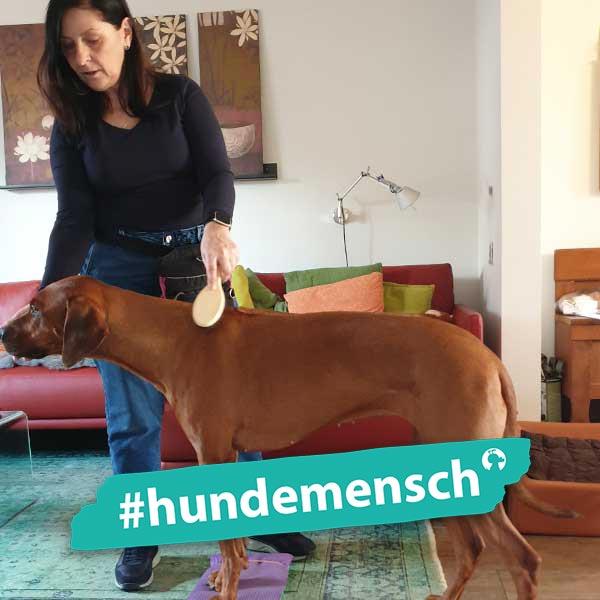 Hundemensch Luzia Brandt